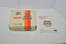 GOLD DOLLAR Cigarettes Tobbaco Cigaretten machine vintage empty box rare