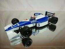 ONYX TYRRELL 019 1990 -PIAA EPSON - NAKAJIMA F1 WHITE BLUE 1:43 - GOOD CONDITION