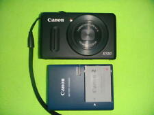CANON POWERSHOT S100 12.1 MEGA PIXELS DIGITAL CAMERA BLACK