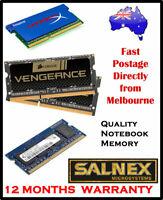 Apple Geniune Hynix 4GB DDR3-1333 (2x2GB)1Rx8-PC3-10600S-9-10-B1 NOTEBOOK MEMORY