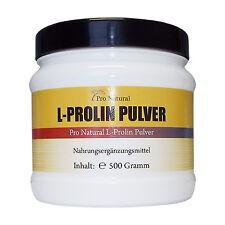 L-Prolin 500g 100% reines Pulver (wie 1000 L-Proline 500mg Kapseln ) Top Angebot