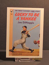 1993 Kitchen Sink Press Sports Immortals #NNO Joe Di Maggio Lucky to Be a Yankee