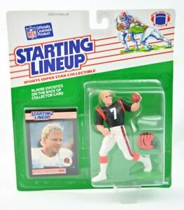 NEW 1989 NFL Starting Lineup Boomer Esiason Cincinnati Bengals Action Figure C