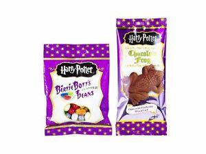 Harry Potter Bertie Bott's Beans 54g & Chocolate Frog 15g American Candy & Sweet