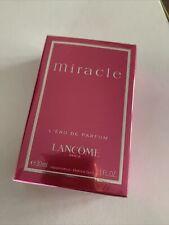 Lancome Miracle L'eau De Parfum 30ml BNIB Sealed RRP£45