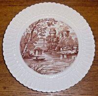 "Royal Cauldon England Porcelain Plate - Warwick Castle - P. Simpson - 9 5/8"""