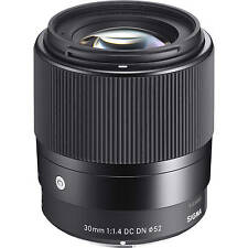 Sigma 30mm F1.4 DC DN Contemporary Lente en Sony Mount Fit (Reino Unido stock E) Nuevo Y En Caja