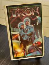 Walt Disney Home Video Tron Vhs Stereo Clamshell Vintage Rare