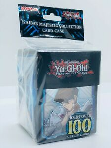 YUGIOH!! Kaiba's Majestic Deck Box / Card Case! Für 100 Karten! Blue-Eyes! Neu!