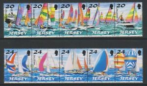 Jersey - 1998, Yachting, 1st Serie Set - Nuovo senza Linguella - Sg 854/63