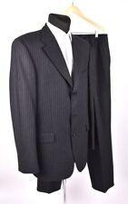 Hugo Boss Angelico / Parme Laine Épais Gris Foncé Homme Costume Taille 102