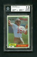1981 Joe Montana Topps #216 Rookie RC BGS 7.5 Near Mint+ (7,8.5,9,9.5)