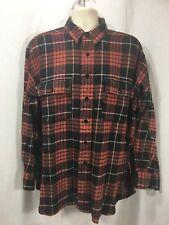 Polo by Ralph Lauren Large button up plaid shirt long sleeve Cotton Brooke