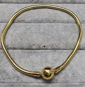 Pandora Gold Bracelet 567107 Moments armband Größe 19 cm S925 ALE