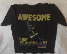 Boys Size 10/12  BATMAN Lego DC Comics Super Heroes T Shirt Black