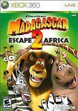 Madagascar: Escape 2 Afrika (Microsoft Xbox 360, 2008)