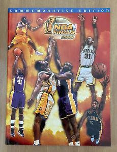 KOBE BRYANT 2000 NBA FINALS INDIANA PACERS @ LOS ANGELES LAKERS PROGRAM