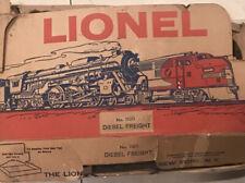 Vintage Lionel Rio Grande Locomotive 222 Box Track Cars Set 11011 Warranty card