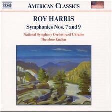 Roy Harris: Symphonies Nos. 7 & 9 (CD, Jul-2002, Naxos Near Mint