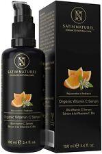 Satin Naturel Sérum BIO Acide Hyaluronique Vitamine C Vitamine E Aloe Vera Peaux