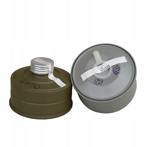 Modern Gas Mask Filter MS-4 cartridge canister respiratory protection Gost 40mm