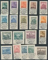 Lot Stamp Germany Bohemia Czechoslovakia Collection Prague CTO FDC