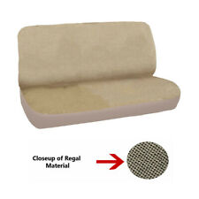 NEW Universal FULL SIZE Bench Truck Seat Cover Regal Velour Beige