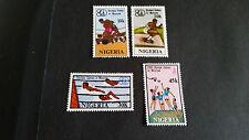 NIGERIA 1980 SG 406-409 OLYMPIC GAMES  MNH