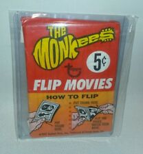 ☆ RARE 1967 TOPPS THE MONKEES FLIP MOVIES SEALED WAX PACK FREE SHIPPING