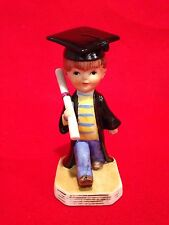 Vintage Gorham Fran Mar 1976 Figurine Boy With Diploma Moppets Grad Gift