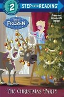 The Christmas Party (Disney Frozen) (Step Into Reading), Posner-Sanchez, Andrea,