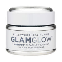GlamGlow SuperMud Clearing Treatment 1.7oz, 50g Skincare Mask
