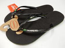 Havaianas Womens Slim Brazil Sandal Black Size 7/8