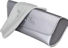 New Authentic Swarovski Sunglass Case & Lens Cloth