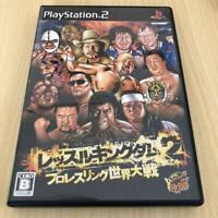 USED PS2 PlayStation 2 Wrestle Kingdom 2 (language/Japanese)