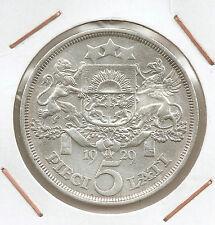 Letonia: 5 Lati 1929 XF
