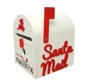 Dear Little Designs - Christmas Wooden Mailbox by Dear Little Designs