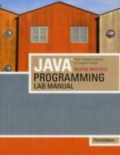 Java Programming Lab Manual: From Problem Analysis To Program Design, 3rd Editio