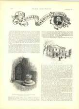 1891 SIR EDWIN ARNOLD MR Alfred AUSTIN JOHN WESLEY CENTENARIO