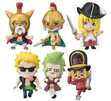 Bandai One Piece Corrida Coliseum Phone Strap Mascot Figure Set of 6