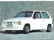 Spoiler anteriore front spoiler Bubblecar Made in Italy per Fiat Uno