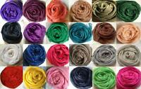 Fashionable Plain Shimmery Oversize Maxi Hijab/Scarf - Many Colours Available