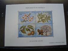 MONACO - timbre - yvert et tellier bloc n° 60 n** (Z2) stamp monaco