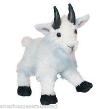 """MAGGIE Douglas 7"""" stuffed animal MOUNTAIN GOAT WHITE plush cuddle toy"""