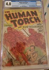 Human Torch #2 (#1) CGC 4.0 1st Human Torch issue 1st Appearance of Toro (RARE)