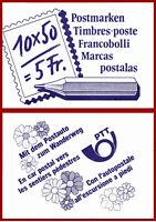 Schweiz 1988 Postbeförderung, postfrisches Markenheft, gest. Mi 0-84, SBK 0-84