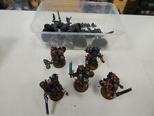 Games Workshop Warhammer Death Company Assault Marines part painted