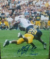 Marcus Ray  Michigan  Autographed 8x10 W INSCRIPTION 97 Champs COA