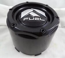 Fuel Wheels GLOSS BLACK Custom Wheel Center Caps Set of 1 # 1003-50B NEW!