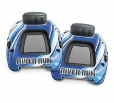2 Pack! Intex River Run 1 Two Pack Lounges Connect 'N Float System NEW IN BOX